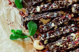 kuchen ohne backen mit schokolade und minze überraschend anders