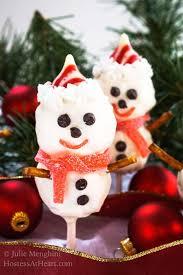 Rice Krispie Christmas Tree Ornaments by Rice Krispie Snowman Pops U0026 Cookies Hostess At Heart