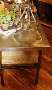 Antique Metal Kitchen Table