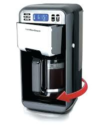 Hamilton Beach Scoop Single Cup Coffee Maker The 49981a