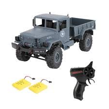 WPL B-1 1/16 2.4G 4WD Off-Road RC Military Truck Rock Crawler Army ...