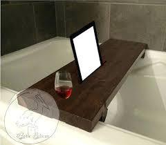 Teak Bathtub Caddy Canada by Bathtub Shelf Tub Caddy U2013 Modafizone Co
