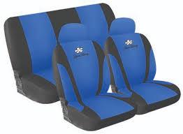 housse de siege auto housse de siège microfibre bleue housses pour siège auto