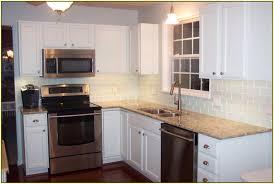 Kitchen Tile Backsplash Ideas With Dark Cabinets by White Backsplash Tile Photos Ideas Houzz Backsplash Ideas Joy