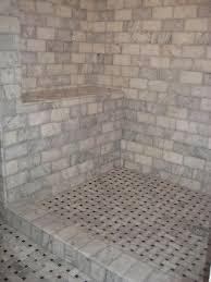 lycian large basketweave tile vs carrara marble basketweave