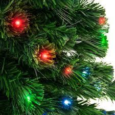 7ft Fiber Optic Artificial Christmas Pine Tree W 280 Lights Stand