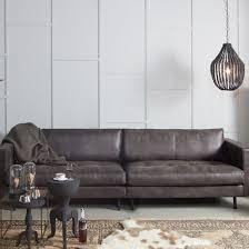 canapé polyester canapé contemporain en cuir et polyester rodeo decoclico