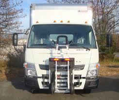 100 Truck And Van Accessories Mitsubishi Fuso F180 Canter With HTS10T Tilt Mount UltraRack Unit
