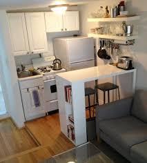 Studio Apartment Kitchen Ideas Side Shelf Apartment Therapy Small Apartment Kitchen