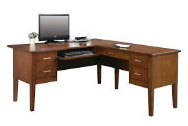 Ameriwood Desk And Hutch In Cherry by L Shaped Desks You U0027ll Love Wayfair