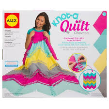 ALEX Toys Craft Knot A Quilt Chevron Tar