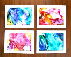 At Home Art Projects For Adults Cool Kids Fired Ink Easy Craft Arts And Crafts Ideas