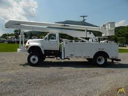 100 Ford Bucket Truck 55 Altec AN755 Articulating On FSeries SOLD Boom
