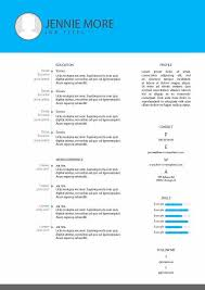 Cv Resume Template Example 29 Free Download Adobe Indesign