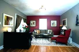Dining Room Accent Walls Red Paint Ideas Wall