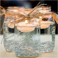 Wedding Decor Simple Centerpieces For Country Weddings You Can Adapt Mason Jar