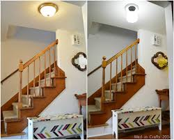 brilliant flush mount hallway lighting upgrading a flush mount