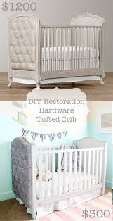 Restoration Hardware Dog Bed by Diy Restoration Hardware Inspired Tufted Crib A Joyful Riot