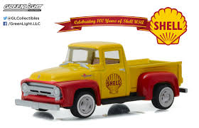 Greenlight 1:64 Anniversary Series 4 1956 Ford F-100 Shell Oil 100th ...
