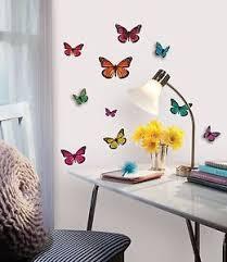 La Foto Se Est Cargando Mariposas 3d Pegatinas De Pared 25 Mariposa Decoracion