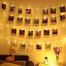 led fotoclips lichterkette dekoration für hochzeit