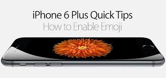 How to Enable Emoji on iPhone 6 Plus State Tech