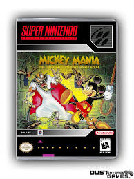 Mickey Mania: The Timeless Adventures Of Mickey Mouse SNES Super ...