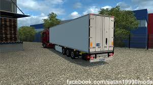 TMP - KRONE COOL LINER SDR 27 V1.2 TRAILER MOD -Euro Truck Simulator ... Renault Premium With Autoload V20 Farming Simulator Modification Cm Truck Beds At Tmp Innovate Daimler 00 Trailer Ets2 Oversize Load 2 R 12r 130 Euro Simulator Chemical Cistern Mods Youtube Speeding Freight Semi Truck With Made In Sweden Caption On The Jumbo Pack Man Fs15 V11 Cistern Chrome V12 Trailer Mod