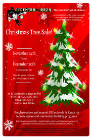 From Friday November 24th To Wednesday December 20th El Centro De La Raza A Non Profit On Beacon Hill Will Be Selling Christmas Trees As An Important