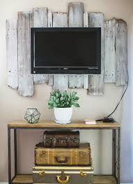 Cool Rustic Vintage Decor Tv