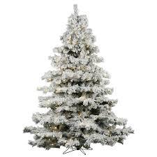 75 Slim Flocked Christmas Tree by Flocked Alaskan 7 5 U0027 White Artificial Christmas Tree With 900 Dura
