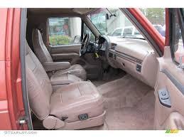 1994 Ford Bronco Ed Bauer 4x4 interior
