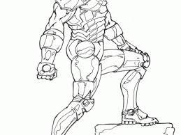 Free Coloring Pages Of Iron Man Hulkbuster