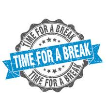 Time For A Break Stamp Sign Seal Royalty Free Vector Image