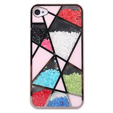 Sliding Polygon Mirror Hard Cover Case For Iphone 4 4s on Luulla