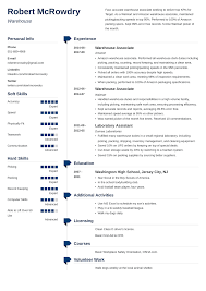 Warehouse Resume: Sample And Complete Guide [+20 Examples] Resume Examples For Warehouse Associate Professional Job Awesome Sample And Complete Guide 20 Worker Description 30 34 Best Samples Templates Used Car General Labor Objective Lovely Bilingual Skills New Associate Example Livecareer