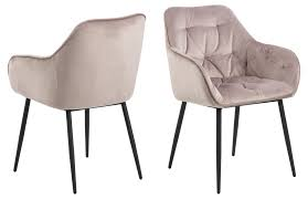 2x bruks esszimmerstuhl armlehne rosa stuhl set esszimmer stühle küchenstuhl dynamic 24 de