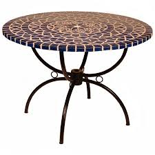 table ronde mosaique fer forge superbe table mosaique fer forge 13 table ronde 224 mosaique