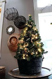 Tabletop Trees With Lights Tree Desktop Mini Small Christmas