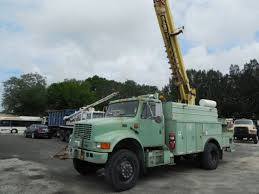 International Digger Derrick Trucks