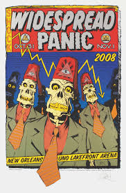 Widespread Panic Halloween 2015 by Rock The Body Electric October 2015