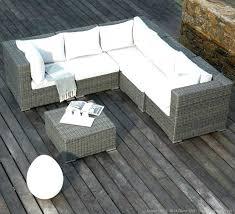 house de canapé salon de jardin canape angle d exterieur resine awesome ideas