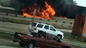 No Injuries After Fiery 18-Wheeler Crash In Denton - NBC 5 Dallas ... Investigators Looking Into Cause Of Truck Explosion While Crew Was Tanker With 9000 Gallons Gas Overturns Explodes Portland Food Explodes Kobitv Nbc5 Kotitv Nbc2 Pickup Next To Southcrest Apartments The San Diego Propane Tanker Flames On I40 Kforcom Takata Troubles Worsen As Kills Texas Woman Watch Tipped Engulf Highway In Cnn Video Fire More Than 100 People Gerianile Ohp Man Pulls Driver From Burning Fedex After Crash Us Syria Dozens Killed Fuel Truck Explosion Airstrikes Near Eric Sniders Sort Boring Blog Party Whole Road Engulfed Ethanol Erupts Following