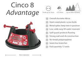 Cinco 8 Advantage Christmas Tree Stand
