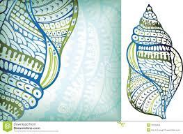 100 Sea Shell Design Stock Vector Illustration Of Illustration 15233405