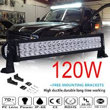 24inch 120W LED Light Bar Spot/Flood/Combo SUV ATV Truck Offroad ... Truck Lite Led Spot Light With Ingrated Mount 81711 Trucklite Work Light Bar 4x4 Offroad Atv Truck Quad Flood Lamp 8 36w 12x Work Lights Bar Flood Offroad Vehicle Car Lamp 24w Automotive Led Lens Fog For How To Install Your Own Driving Offroad 9 Inch 185w 6000k Hid 72w Nilight 2pcs 65 36w Off Road 5 72w Roof Rigid Industries D2 Pro Flush Mount 1513 180w 13500lm 60 Led Work Light Bar Off Road Jeep Suv Ute Mine 10w Roundsquare Spotflood Beam For Motorcycle