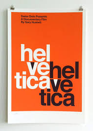 Limited Edition Helvetica Poster