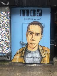 Joe Strummer Mural New York City by New York Day 3 U2013 Voyages Of Mine