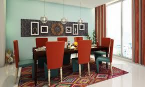 Modern Ethnic Dining Room
