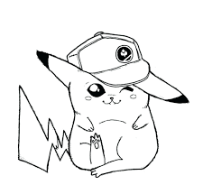 Free Printable Coloring Pages Pokemon Black White Cartoons